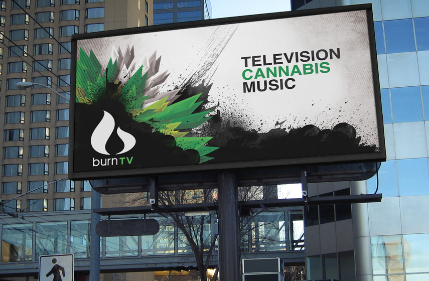 Burn TV Billboard